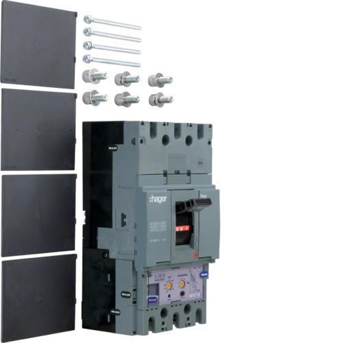 Hager HCD630H h630 kioldó nélküli kapcsoló, 3P, 630A