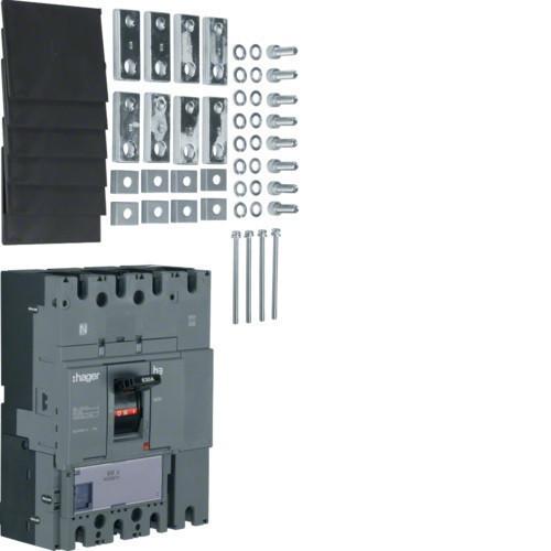 Hager HCD631H h630 kioldó nélküli kapcsoló, 4P, 630A