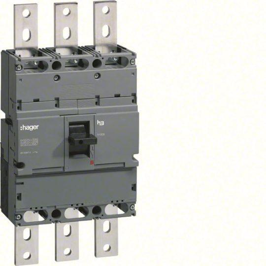 Hager HCE800H h1000 kioldó nélküli kapcsoló, 3P, 800A