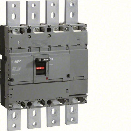 Hager HCE801H h1000 kioldó nélküli kapcsoló, 4P, 800A