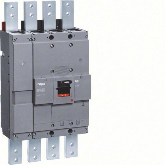 Hager HCF981H h1600 kioldó nélküli kapcsoló, 4P, 1250A