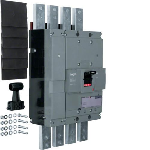Hager HCF991H h1600 kioldó nélküli kapcsoló, 4P, 1600A