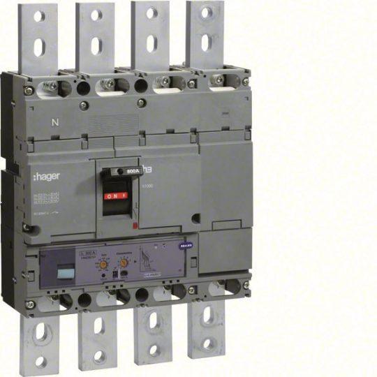 Hager HEE801H h1000 LSI kompakt megszakító, 4P, 800A, 70kA