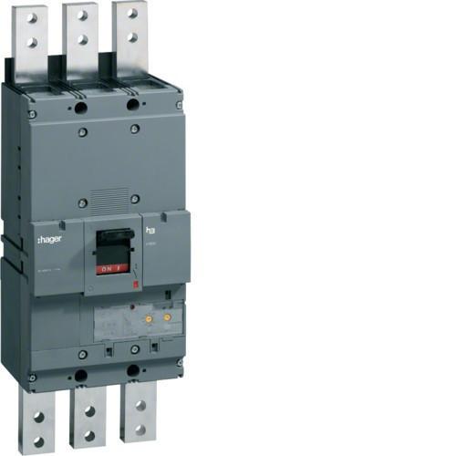 Hager HEF980H h1600 LSI kompakt megszakító, 3P, 1250A, 70kA
