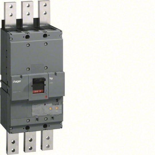 Hager HEF990H h1600 LSI kompakt megszakító, 3P, 1600A, 70kA