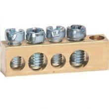 N/PE sín 2x16mm2+2x10mm2, L=30mm, talp nélkül (Hager K140)