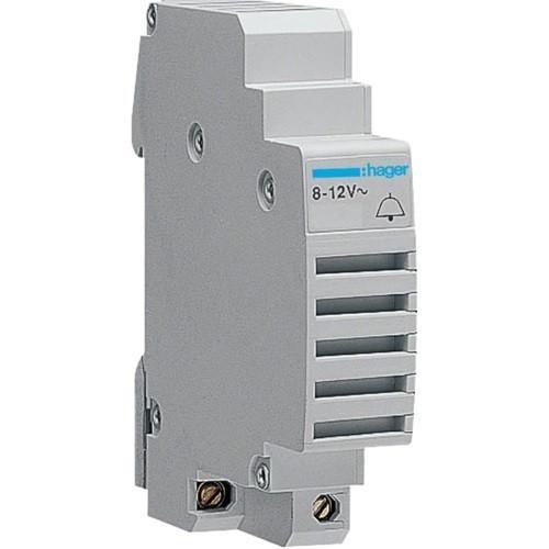 Hager SU212, moduláris csengő 8-12V AC 50/60 Hz, 85 dB (Hager SU212)