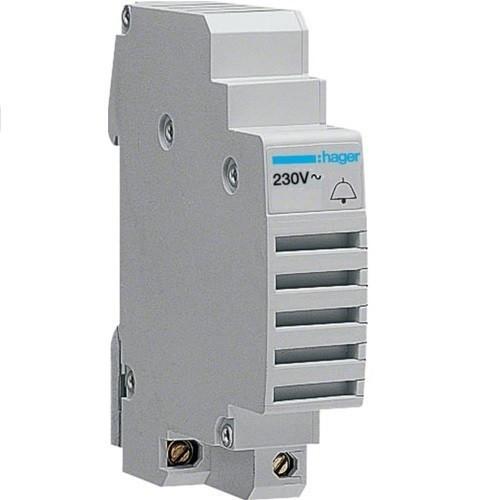 Hager SU213, moduláris csengő 230V AC 50/60 Hz, 85 dB (Hager SU213)