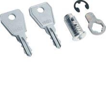 Zár 2 db kulccsal Volta kiselosztókhoz (Hager VZ302N)