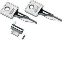 Zár 2 db kulccsal a Mini Gamma elosztókhoz (Hager VZ313)