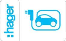 Hager, Witty, XEV308, Elektromos autótöltő állomáshoz 20 darab RFID kártya Witty ( Hager XEV308 )
