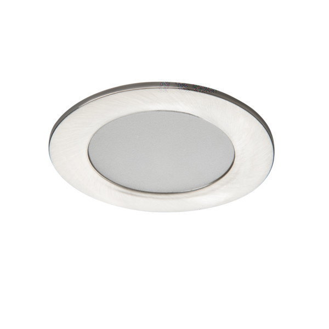 Kanlux 25783 IvIAN LED szatén nikkel dekorációs led, beltéri mennyezeti SPOT lámpa LED IP44 neutrál fehér 4,5W 370lm