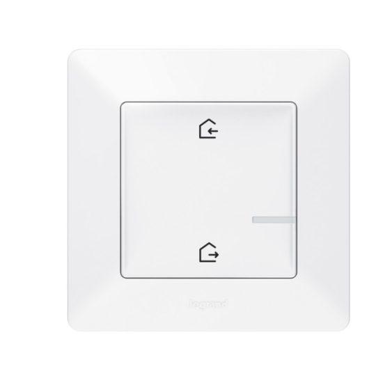 Legrand Netatmo 752186 Vezeték nélküli főkapcsoló - Érkezés/Távozás funkcióval Valena Life Netatmo fehér ( 752186 )