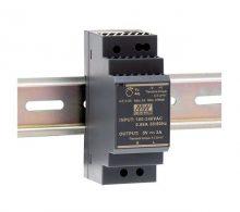 Mean Well HDR-30-24 Tápegység 1 fázisú, 30W, 24V DC kimenettel, 1,5A, 85...264 V AC, 50/60 Hz) ( HDR-30-24 )