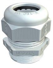 Tömszelence műanyag M63 IP68 világosszürke RAL7035 befogható kábelek külső átmérője 36 - 48 mm, V-TEC VM63 LGR (Obo Bettermann 2022876)