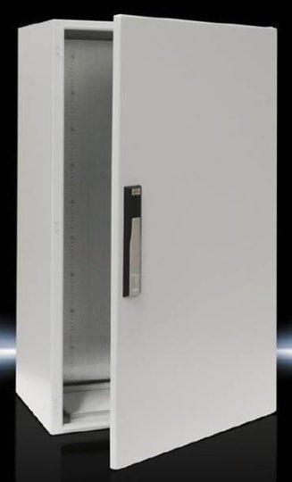 Rittal CM kompakt 5111.500 fém szekrény, teli ajtóval, 1000x600x400, IP55, szerelőlappal (Rittal 5111500)
