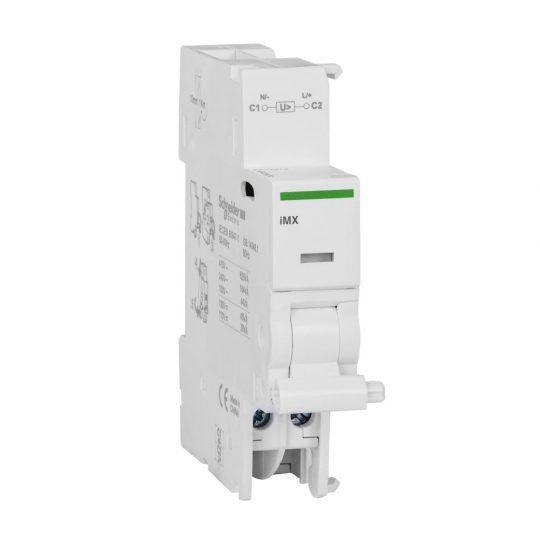 Schneider Electric, Acti9, A9A26476, Munkaáramú kioldó segédérintkező, 100-415 V (AC),110-130 V (DC) ACTI9 iMX(Schneider A9A26476)