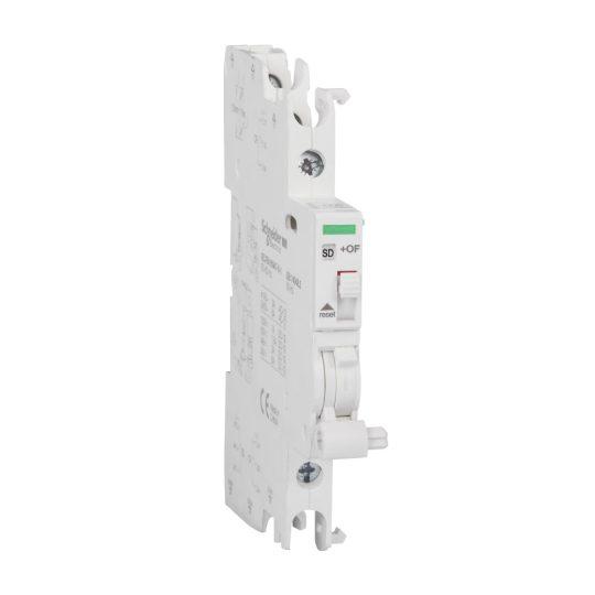 Schneider Electric, Acti9, A9A26929, Dupla nyitás/zárás jelző hibajelző-érintkező vagy segédérintkező, 240-415 V (AC),24-130 V (DC) ACTI9 iOF/SD+OF(Schneider A9A26929)