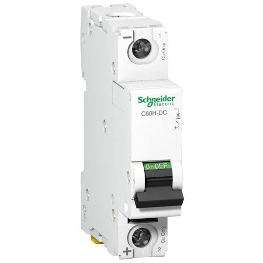 Schneider Electric, Acti9, A9N61510, Kismegszakító 1P,15A, C karakterisztika, 6 kA Acti9 C60H-DC (Schneider A9N61510)