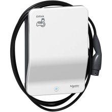 Elektromos autótöltő állomás fali 1x T2 - 22,1 kW, beépített kábellel, kulcsos azonosítással EVLink Smart Wallbox (Schneider EVB1A22PCKI)