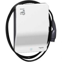 Schneider Electric, EVLink Smart Wallbox, EVB1A22PCKI, Elektromos autótöltő állomás fali 1x T2 - 22,1 kW, beépített kábellel, kulcsos azonosítással EVLink Smart Wallbox (Schneider EVB1A22PCKI)