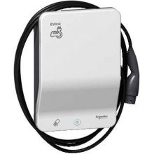 Schneider Electric, EVLink Smart Wallbox, EVB1A22PCRI, Elektromos autótöltő állomás fali 1x T2 - 22,1 kW, beépített kábellel, RFID kártya leolvasóval EVLink Smart Wallbox (Schneider EVB1A22PCRI)
