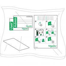 Elektromos autótöltő állomáshoz 10 darab RFID kártya EVlink ( Schneider EVP1BNS )
