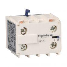 Schneider Electric, Segédérintkező blokk, homloklapi, 1 Záro + 1 Nyitó, csavaros csatlakozás (Schneider LA1KN11)