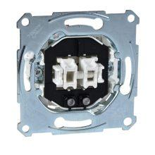 Schneider Merten MTN3105-0000 csillárkapcsoló betét (105), ellenőrzőfénnyel, burkolat és keret nélkül, rugós bekötés, süllyesztett 10A 250V