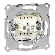 Schneider Merten MTN3115-0000 csillárkapcsoló betét (105), burkolat és keret nélkül, rugós bekötés, süllyesztett 10A 250V