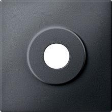 Schneider MTN313914 antracit burkolat kulcsos kapcsolókhoz betétekhez (Merten M-Smart, M-Plan, M-Elegance)