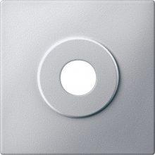Schneider MTN313960 alumínium burkolat kulcsos kapcsolókhoz betétekhez (Merten M-Smart, M-Plan, M-Elegance)