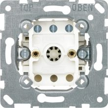 Schneider Merten MTN317100 forgatógombos ventilátorkapcsoló 10 A, AC 250 V , burkolat és keret nélkül (Merten M-Smart, M-Plan, M-Elegance)