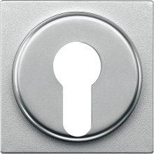 Schneider MTN318160 alumínium burkolat kulcsos kapcsolókhoz betétekhez (Merten M-Smart, M-Plan, M-Elegance)