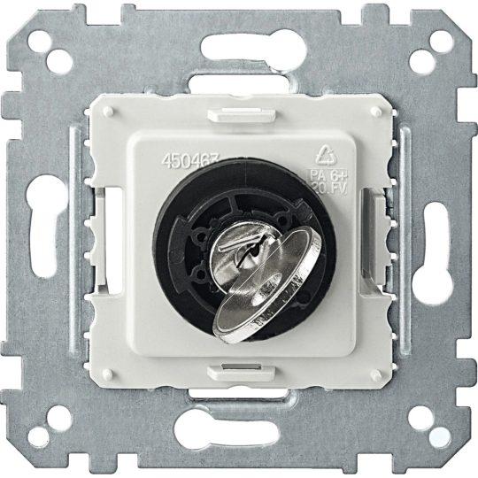 Schneider Merten MTN318599 2 állású kulcsos kapcsoló betét 10 A, AC 250 V burkolat és keret nélkül (Merten M-Smart, M-Plan, M-Elegance)
