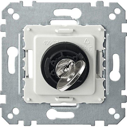 Schneider Merten MTN318699 3 állású kulcsos kapcsoló betét 10 A, AC 250 V burkolat és keret nélkül (Merten M-Smart, M-Plan, M-Elegance)