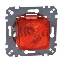 Schneider Merten MTN319018 Jelzőfény (E10-es foglalattal) piros fedlappal, burkolat és keret nélkül (Merten M-Smart, M-Plan, M-Elegance)