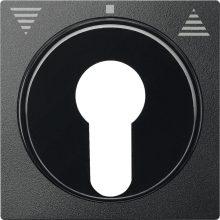 Schneider MTN319314 antracit burkolat kulcsos redőnyvezérlők betétekhez (Merten M-Smart, M-Plan, M-Elegance)