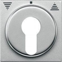 Schneider MTN319360 alumínium burkolat kulcsos redőnyvezérlők betétekhez (Merten M-Smart, M-Plan, M-Elegance)