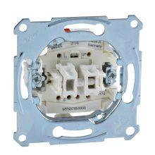 Schneider Merten MTN3715-0000 redőnykapcsoló betét, burkolat és keret nélkül, rugós bekötés, süllyesztett 10A 250V