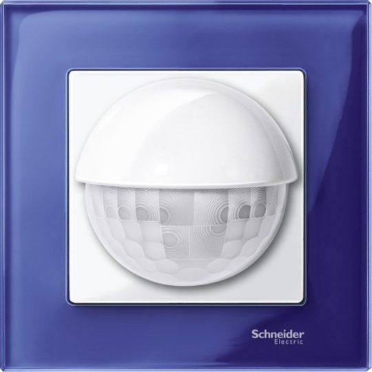 Schneider Merten MTN4010-3278 1-es zafírkék üvegkeret (Schneider M-Elegance)