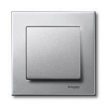 Schneider Merten MTN403160 1-es platina fémkeret (Schneider M-Elegance)