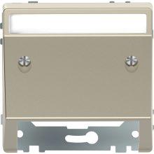 Schneider MTN4540-6033 szahara burkolat kommunikációs betétekhez (Merten D-Life)