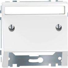 Schneider MTN4540-6035 lótuszfehér burkolat kommunikációs betétekhez (Merten D-Life)