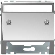 Schneider MTN4540-6036 acél burkolat kommunikációs betétekhez (Merten D-Life)