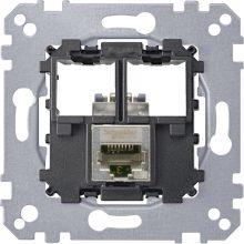 Schneider Merten MTN4575-0011 1xRJ45 Cat5e STP aljzat burkolat és kerét nélkül