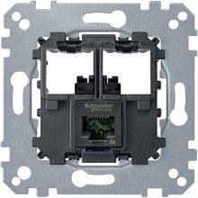 Schneider Merten MTN4576-0001 1xRJ45 Cat6 UTP aljzat burkolat és kerét nélkül