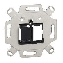 Schneider Merten MTN4580-0001 Kettős adapter, multimédiás Keystone betétekhez burkolat és keret nélkül