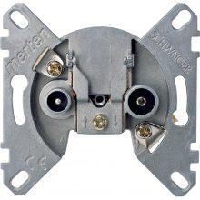 Schneider Merten MTN466098 TV/R-SAT aljzat, átmenő, burkolat és keret nélkül