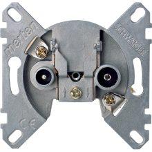 Schneider Merten MTN466099 TV/R-SAT aljzat, végzáró, burkolat és keret nélkül